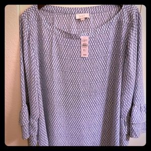 Loft Outlet Bell Sleeve Top